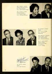 Page 16, 1964 Edition, Henderson Institute - Panther Yearbook (Henderson, NC) online yearbook collection