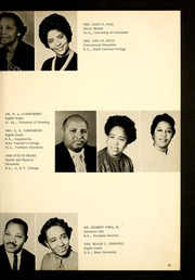 Page 17, 1964 Edition, Henderson Institute - Panther Yearbook (Henderson, NC) online yearbook collection
