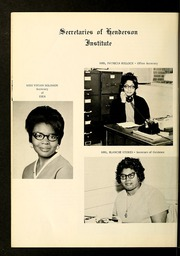 Page 16, 1969 Edition, Henderson Institute - Panther Yearbook (Henderson, NC) online yearbook collection