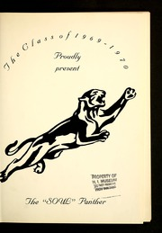 Page 5, 1970 Edition, Henderson Institute - Panther Yearbook (Henderson, NC) online yearbook collection