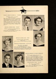 Page 13, 1954 Edition, Shady Grove High School - Panther Yearbook (Advance, NC) online yearbook collection