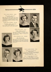 Page 15, 1954 Edition, Shady Grove High School - Panther Yearbook (Advance, NC) online yearbook collection
