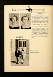 Page 16, 1954 Edition, Shady Grove High School - Panther Yearbook (Advance, NC) online yearbook collection