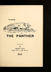 Page 5, 1954 Edition, Shady Grove High School - Panther Yearbook (Advance, NC) online yearbook collection