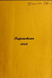 Seven Springs High School - Sesprischoan Yearbook (Seven Springs, NC) online yearbook collection, 1948 Edition, Page 1