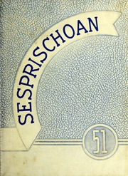 Seven Springs High School - Sesprischoan Yearbook (Seven Springs, NC) online yearbook collection, 1951 Edition, Page 1