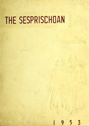 Seven Springs High School - Sesprischoan Yearbook (Seven Springs, NC) online yearbook collection, 1953 Edition, Page 1