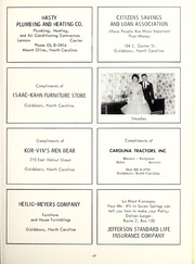 Page 73, 1962 Edition, Seven Springs High School - Sesprischoan Yearbook (Seven Springs, NC) online yearbook collection