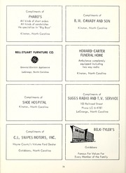 Page 82, 1962 Edition, Seven Springs High School - Sesprischoan Yearbook (Seven Springs, NC) online yearbook collection