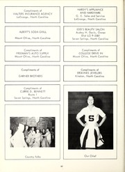 Page 86, 1962 Edition, Seven Springs High School - Sesprischoan Yearbook (Seven Springs, NC) online yearbook collection