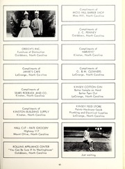 Page 87, 1962 Edition, Seven Springs High School - Sesprischoan Yearbook (Seven Springs, NC) online yearbook collection