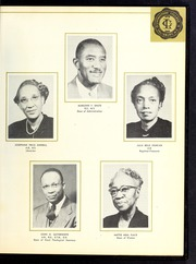 Page 11, 1953 Edition, Livingstone College - Livingstonian Yearbook (Salisbury, NC) online yearbook collection