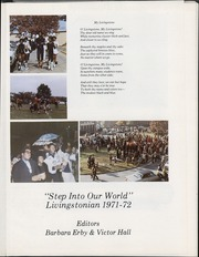Page 5, 1972 Edition, Livingstone College - Livingstonian Yearbook (Salisbury, NC) online yearbook collection