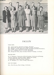 Page 11, 1952 Edition, Wesley Chapel High School - Hi Lights Yearbook (Monroe, NC) online yearbook collection