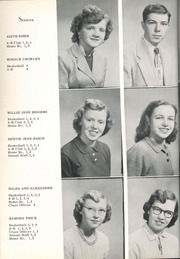 Page 16, 1952 Edition, Wesley Chapel High School - Hi Lights Yearbook (Monroe, NC) online yearbook collection