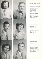 Page 17, 1952 Edition, Wesley Chapel High School - Hi Lights Yearbook (Monroe, NC) online yearbook collection