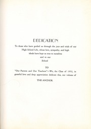 Page 7, 1952 Edition, Wesley Chapel High School - Hi Lights Yearbook (Monroe, NC) online yearbook collection