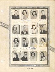 Page 17, 1942 Edition, Indian Trail High School - Painted Arrow Yearbook (Indian Trail, NC) online yearbook collection