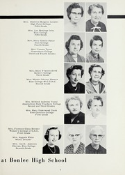 Page 11, 1958 Edition, Bonlee High School - Treasured Leaves Yearbook (Bonlee, NC) online yearbook collection