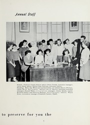 Page 9, 1958 Edition, Bonlee High School - Treasured Leaves Yearbook (Bonlee, NC) online yearbook collection