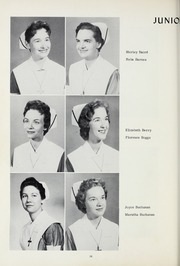 Grace Hospital School of Nursing - Silver Cross Yearbook (Morganton, NC) online yearbook collection, 1960 Edition, Page 30