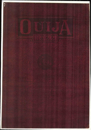 Grove City College - Ouija Yearbook (Grove City, PA) online yearbook collection, 1922 Edition, Page 1
