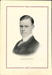 Page 10, 1922 Edition, Grove City College - Ouija Yearbook (Grove City, PA) online yearbook collection