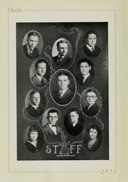 Page 10, 1923 Edition, Grove City College - Ouija Yearbook (Grove City, PA) online yearbook collection