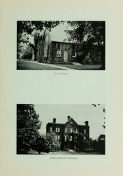 Page 15, 1923 Edition, Grove City College - Ouija Yearbook (Grove City, PA) online yearbook collection
