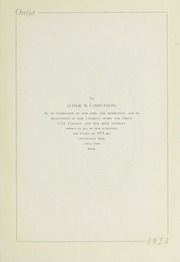 Page 7, 1923 Edition, Grove City College - Ouija Yearbook (Grove City, PA) online yearbook collection