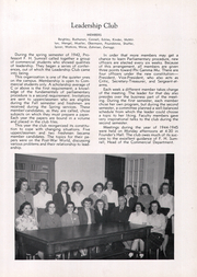 Page 14, 1945 Edition, Grove City College - Ouija Yearbook (Grove City, PA) online yearbook collection