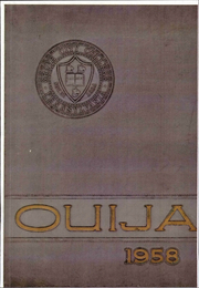 Page 1, 1958 Edition, Grove City College - Ouija Yearbook (Grove City, PA) online yearbook collection