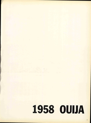 Page 7, 1958 Edition, Grove City College - Ouija Yearbook (Grove City, PA) online yearbook collection
