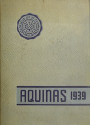 1939 Edition, University of St Thomas - Aquinas Yearbook (St Paul, MN)