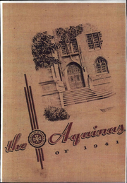 1941 Edition, University of St Thomas - Aquinas Yearbook (St Paul, MN)