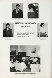 Page 22, 1971 Edition, Conquerors Bible College - Ensign Yearbook (Portland, OR) online yearbook collection