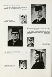 Page 24, 1971 Edition, Conquerors Bible College - Ensign Yearbook (Portland, OR) online yearbook collection