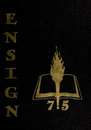 1975 Edition, Conquerors Bible College - Ensign Yearbook (Portland, OR)