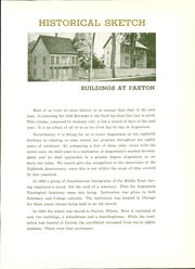 Page 17, 1940 Edition, Augustana College - Rockety I Yearbook (Rock Island, IL) online yearbook collection