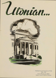 Page 2, 1949 Edition, University of Utah - Utonian Yearbook (Salt Lake City, UT) online yearbook collection