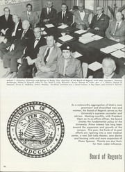 Page 30, 1957 Edition, University of Utah - Utonian Yearbook (Salt Lake City, UT) online yearbook collection