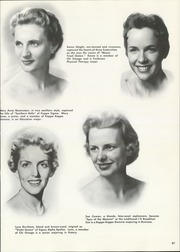 Page 91, 1957 Edition, University of Utah - Utonian Yearbook (Salt Lake City, UT) online yearbook collection