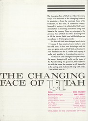 Page 6, 1961 Edition, University of Utah - Utonian Yearbook (Salt Lake City, UT) online yearbook collection