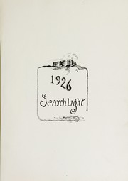 Page 5, 1926 Edition, Minot High School - Searchlight Yearbook (Minot, ND) online yearbook collection