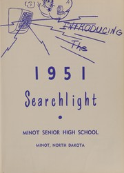 Page 7, 1951 Edition, Minot High School - Searchlight Yearbook (Minot, ND) online yearbook collection