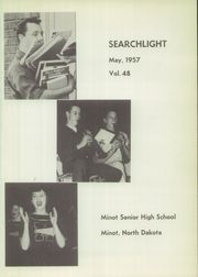 Page 5, 1957 Edition, Minot High School - Searchlight Yearbook (Minot, ND) online yearbook collection