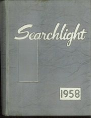 1958 Edition, Minot High School - Searchlight Yearbook (Minot, ND)