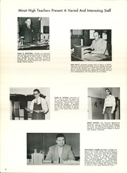 Page 10, 1960 Edition, Minot High School - Searchlight Yearbook (Minot, ND) online yearbook collection
