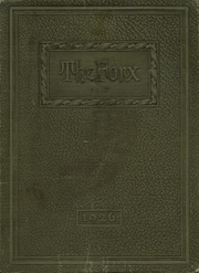 Page 1, 1926 Edition, Central High School - Forx Yearbook (Grand Forks, ND) online yearbook collection