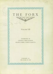 Page 7, 1926 Edition, Central High School - Forx Yearbook (Grand Forks, ND) online yearbook collection